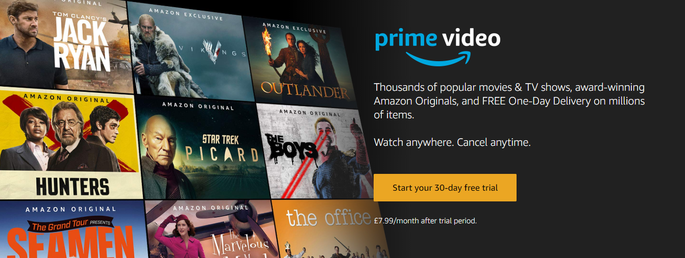 Amazon co uk Sign up for Prime Instant Video